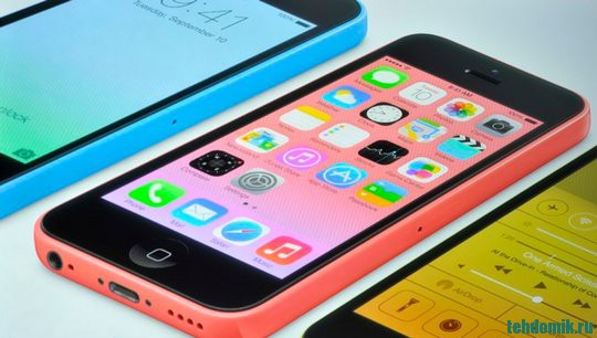 Apple iPhone 5c фото