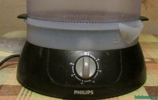 Пароварка Philips HD 9120 (фото)